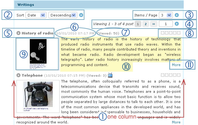 Supporting managing responsive web design vnvn cms 2.5 change the display of the of an article