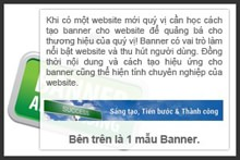 Thiết kế banner web