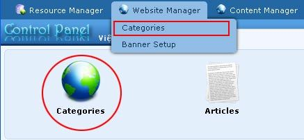 Supporting managing responsive web design vnvn cms 2.5 create the top menu