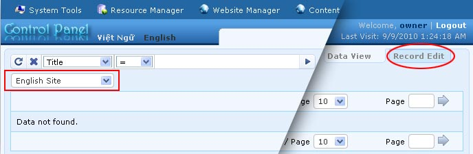 Supporting managing responsive web design vnvn cms 2.5 add the contact page